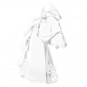 horse head in crystal
