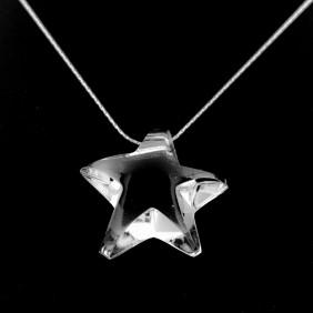 Collana cristallo Starfive